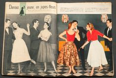 'ELLE' FRENCH VINTAGE MAGAZINE NEW YEAR ISSUE 26 DECEMBER 1955 | eBay