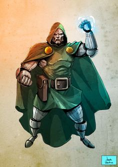 Dr. Doom by Vicente Valentine