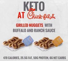 KETO AT CHICK-FIL-A So you're a Keto Hacker and your about to swing by Chick-fil-A for some fast food. What can you order on the menu and stil by ketohackershop Keto Diet Fast Food, Healthy Fast Food Options, Fast Healthy Meals, Keto Diet Plan, Keto Snacks, Ketogenic Diet, Keto Foods, Healthy Eating, Healthy Life