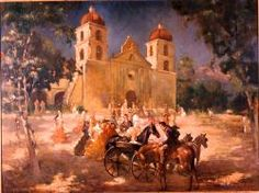 Mission Santa Barbara, to which the Lone Woman of San Nicolas was taken in 1853. Useful while teaching ISLAND OF THE BLUE DOLPHINS by Scott O'Dell. Free template and some fun activity ideas/teaching resources at https://litwits.com/island-of-the-blue-dolphins/