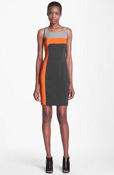 Jay Godfrey 'Dalton' Colorblock Sheath Dress available at #Nordstrom