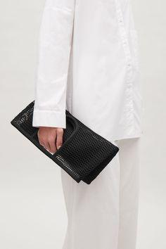 COS image 3 of Mesh market bag in Black