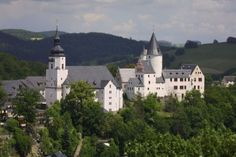 Schloss Schwarzenberg in Schwarzenberg, Germany.