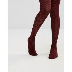 ASOS Pelerine Tights (16 AUD) ❤ liked on Polyvore featuring intimates, hosiery, tights, red, nylon stockings, asos tights, red pantyhose, nylon hosiery and red stockings