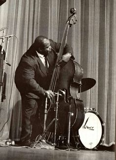 """helveticasociety: """"psychedelicway: """"Willie Dixon (Photo de Jean-Pierre Leloir) """" what an awesome image! Rock And Roll, Pop Rock, Jazz Blues, Blues Music, Blues Artists, Music Artists, Jazz Artists, I Love Music, Kinds Of Music"""