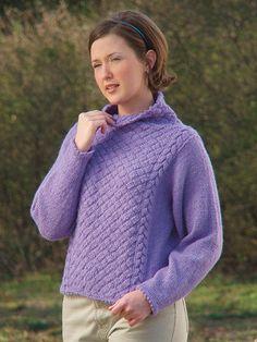 Knitting - Periwinkle Panels