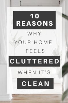 It happens to the best of us: You've already decluttered, yet your home remains messy. Inside: Simple, actionable steps to take 10 very common messy spaces (ones that we all overlook!) from cluttered to calm. Home Organization Hacks, Organizing Your Home, Organization Ideas, Clean Mama, Clean Clean, Book Spine, Clutter Free Home, Declutter Your Life, Konmari