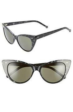 a85bb5b6b08 COLORS IN OPTICS Designer Audrey 54mm Cat Eye Sunglasses