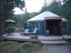 Weed Vacation Rental - VRBO 319692 - 0 BR Shasta Cascade Studio in CA, Creekside Yurt Retreat at Mount Shasta. Writing retreat?
