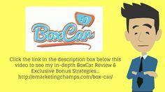 BoxCar Review https://www.youtube.com/watch?v=uOzdm5owijA