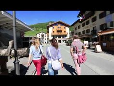 Shopping in Livigno with the Belarusian women's team