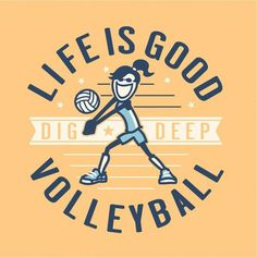 Love volleyball :)