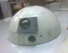 Scratch-Build Lifesize 1:1 R2-D2 Model R2 D2, Han Solo, Starwars, Technology, Building, Model, Anime Art, Tech, Star Wars