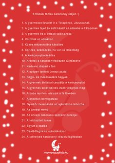 www.mamarazzafoto.hu - Kiskarácsony, nagykarácsony... decemberi fotótémák