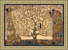 Lit. El Arbol de la Vida Gr. (G. Klimt) - Gustav Klimt