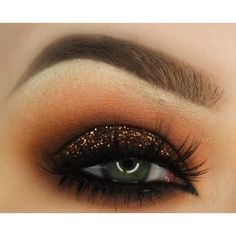 BROWN SUEDE Cosmetic Glitter for Makeup, Eye Shadow, Lips, Nail... ($7.95) ❤ liked on Polyvore featuring beauty products and makeup