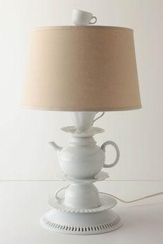 Tea time lamp :)