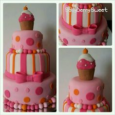Cupcake themed party Cake