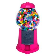 Cardboard Packing Boxes, Baby Dome, Candy Dispenser, Gumball Machine, Candy Theme, Metal Casting, Flamingo Party, Party Themes, Hot Pink