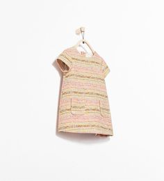 JACQUARD DRESS WITH POCKETS-Dresses-Baby girl (3 months - 3 years)-KIDS | ZARA United States