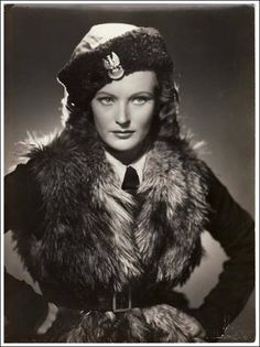 This beautiful lady is Irena Anders, wife of polish general Władysław Anders who was fighting in Monte Cassino.