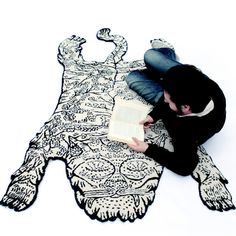 https://fancy.com/things/859122013468360738/Small-Tiger-Rug-by-Moustache
