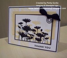 Thank You Daisies by LaLatty - Cards and Paper Crafts at Splitcoaststampers#Repin By:Pinterest++ for iPad#
