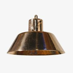 Brass Pendant Lamp by Goldstein & Co. by Formost