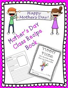 This Mother's Day Class Recipe Book has been a hit with my students' parents for the past 8 years! They turn out SO CUTE! You get some students who actually know how to cook, and then you get a few that say the funniest things, like put it in the oven for 24 hours!
