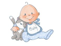 Леди дождя — «baby with cat.png» на Яндекс.Фотках