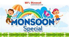 Hurry Up!! Monsoon seasons trip book now heritage hotel in Nainital,@ Naini Retreat and gets 20% discounts and cash back guaranty @ nainiretreat.com or Call Now 011 – 23415601