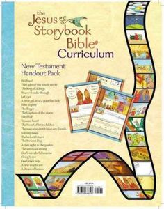 The Jesus Storybook Bible Curriculum Kit Handouts, New Testament contains 23 four-color child handouts one for each New Testament lesson covered in the curriculum. Each handout includes an activity, m