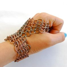Chainmaille Glove Mission Handpiece. $118.00, via Etsy.