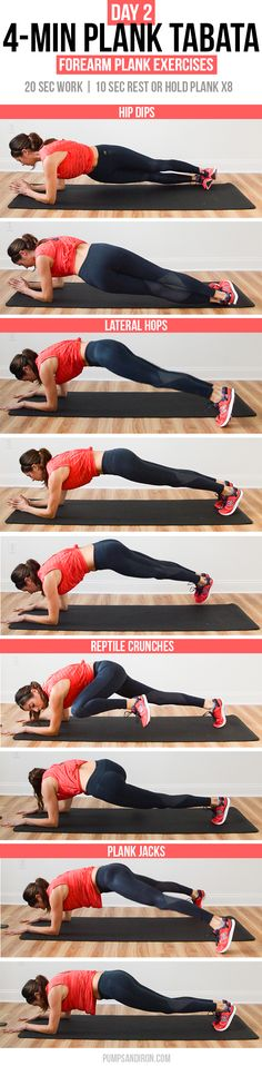I tied my performance from yesterday in this exercise combo and made it through the first two minutes without dropping out of a plank; after that I used the 10 seconds for a true rest. Fitness Workouts, Tabata Workouts, Sport Fitness, Zumba Fitness, At Home Workouts, Fitness Motivation, Health Fitness, Fitness Quotes, Body Workouts