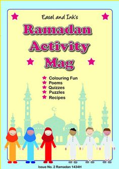 Easel and Ink Homeschooling Corner Ramadan Activities, Ramadan Crafts, Islam Ramadan, Ramadan Food, Islamic Celebrations, Best Poems, Ramadan Recipes, Fun Quizzes, Home Schooling