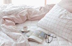 home accessory pink pale aesthetic tumblr aesthetic grid checkered bedding tumblr bedroom bedsheets white holiday gift all pink wishlist
