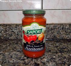 Espaço Sempre Bella: #Resenha - Molho de Tomate Com Azeitonas - Sapori ...