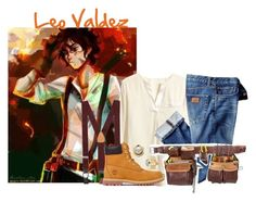 """""""Leo Valdez"""" by lengthyballerina ❤ liked on Polyvore featuring Brooks Brothers, Timberland, Giles & Brother, women's clothing, women's fashion, women, female, woman, misses and juniors"""