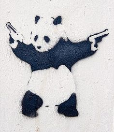 destroy racism like a panda