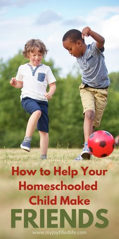 Socialization is a concern among homeschoolers, especially those just starting out. Here are some suggestions and ideas on how to give your child the opportunity to connect with other kids and make friends if you're a homeschool family.
