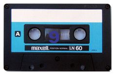 A gallery of ten blank audio cassette tapes from the and featuring brands such as Maxell, TDK, and BASF. Waves Song, Casette Tapes, Magnetic Tape, Nintendo, Music Memes, Arte Pop, Boombox, Audio Equipment, Retro