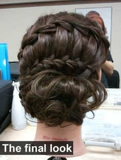waterfall braided up do