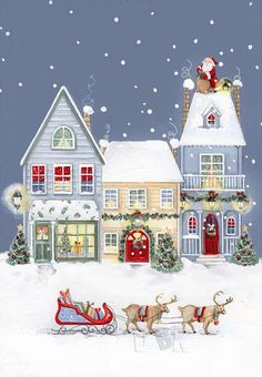 Image Library Designs Original illustrations occasions Christmas greetings cards Source by Christmas Greeting Cards Images, Vintage Greeting Cards, Vintage Christmas Cards, Christmas Design, Christmas Pictures, Christmas Art, Christmas Greetings, Winter Christmas, Christmas Decorations