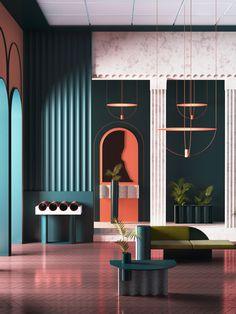 70 New Ideas for house contemporary interior furniture Contemporary Interior Design, Modern Interior Design, Interior Design Inspiration, Interior Architecture, Modern Contemporary, Color Interior, Modern Art Deco, Contemporary Wallpaper, Interior Design Magazine