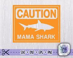 Mama Shark, Vinyl Shirts, Png Format, Svg Files For Cricut, Silhouette Studio, Cricut Design, Wood Signs, Wall Decals, Software