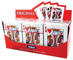 Tallon Games Plastic Coated Playing Cards Tallon…