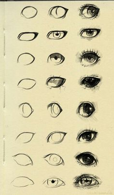 Super Eye Drawing Tutorial Step By Step Character Design Ideas Pencil Art Drawings, Art Drawings Sketches, Cool Drawings, Eye Drawings, Anatomy Sketches, Drawings On Hands, Sketches Of Eyes, Simple Art Drawings, Artwork Drawings