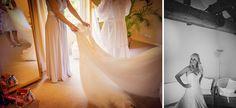 Beautiful #wedding at The Barn at Bury Court. #weddingdress #bridesmaids
