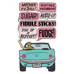 Southern Charm Tip: Manage Your Road Rage - this is so funny and I do say some of these things! Southern Belle Quotes, Southern Ladies, Southern Pride, Southern Sayings, Southern Comfort, Southern Charm, Southern Style, Southern Living, Southern Hospitality
