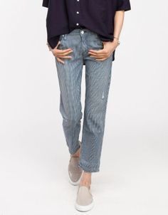Trendy pants - The Dropout in On The Road - Mother Denim